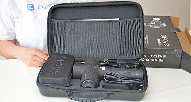 Opove M3 Pro Massagepistole im Test - ein perfektes Geschenk für Eltern, Familie und Freunde