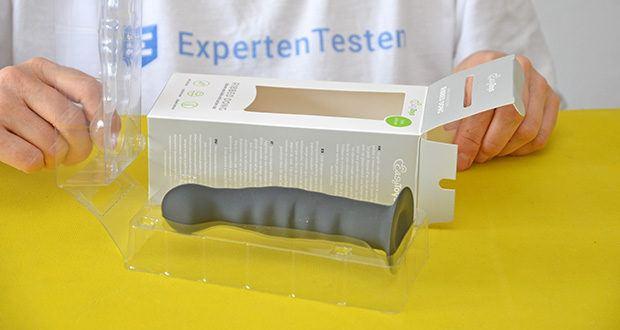 EasyToys Ribbed Dong Silikon Dildo im Test - Gesamtlänge 14.2cm