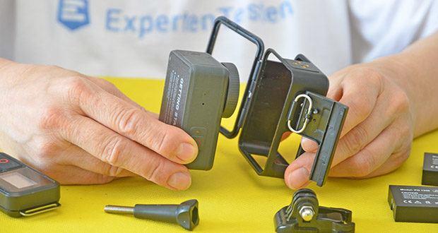 AKASO Brave 7 Action Cam im Test - das leistungsstarke 6-Achsen-Gyroskop-Design kann Vibrationen korrigieren, wenn Sie sich schnell bewegen