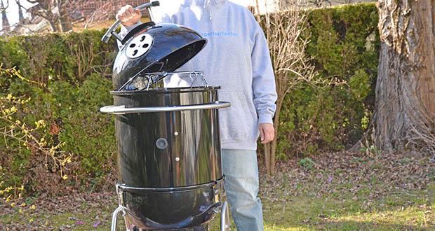 GARWERK Smokey Sam Junior im Test - Hochtemperatur Grillen bei 500 °C möglich