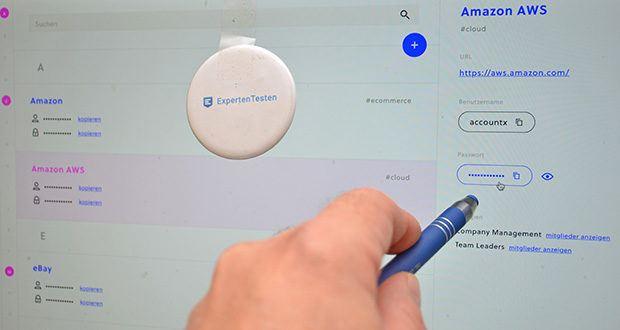 Passwd Passwort Manager im Test - Sie können Passwd zum Speichern von Anmeldungen, Codes, Bankdaten und anderen Arten von Zeichenfolgen verwenden