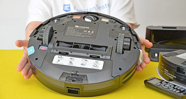 Proscenic 850T Saugroboter mit Wischfunktion im Test - Akkutyp: Li-ion, 2600mAh