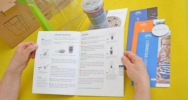 MAUNAWAI NEU Kanne Kini Tischwasserfilter im Test - Anwendung der fünf Prinzipien: Filtration, Information, Optimierung, Harmonisierung, biologische Verfügbarmachung