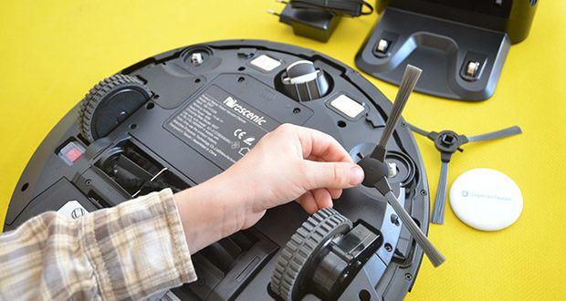 Proscenic 850T Saugroboter mit Wischfunktion im Test - mit 3 einstellbaren Stufen kann der Saugroboter Ihre verschiedenen Anforderungen erfüllen