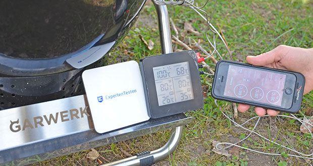 GARWERK Smokey Sam Junior im Test - Temperatur über Smartphone-App einstellbar und überwachbar