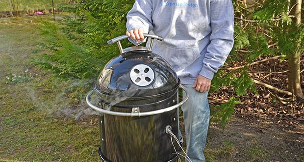 GARWERK Smokey Sam Junior im Test - automatisches Ventilatoren-Belüftungssystem zur Maximierung der Holzkohle-Auslastung