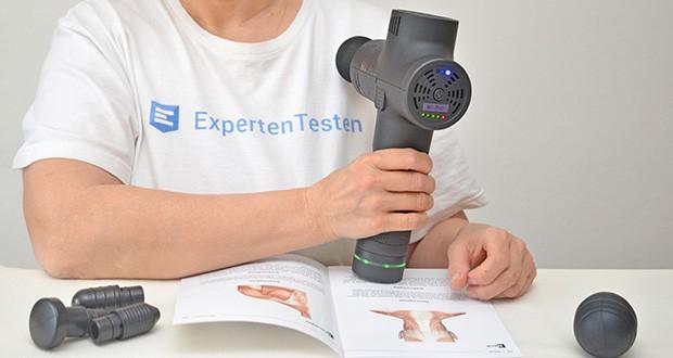 Opove M3 Pro Massagepistole im Test - mit bis zu 3.200 Schlägen pro Minute fühlt es sich wirklich an, als würden Ihre Muskeln durch eine professionelle Massage medizinisch behandelt