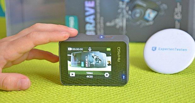 AKASO Brave 7 Action Cam im Test - dank der verbesserten Auflösung können Sie atemberaubende Videos mit 4K30fp und 1080P60fps sowie bis zu 20MP-Fotos aufnehmen