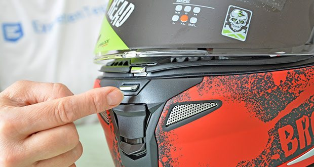 Broken Head Jack S. V2 Pro Motorradhelm im Test - das Visier des Helmes sollte soweit wie möglich sauber gehalten werden