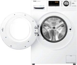 Ein Waschtrockner hat wie eine Waschmaschine eine Trommel, in der beide Wasch- und Trocknungsprozesse durchgeführt werden.