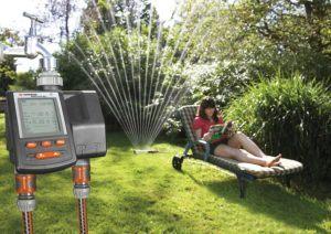 Bewässerungscomputer können unterschiedlich eingestellt und gesteuert werden.