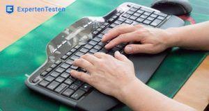 Welche Arten von Tastaturen gibt es in einem Testvergleich?