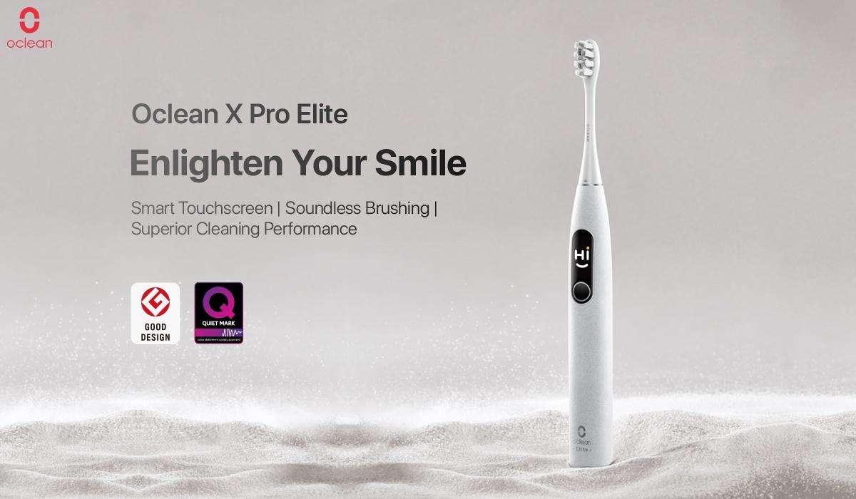 Oclean Xpro Elite - Enlighten your smile!