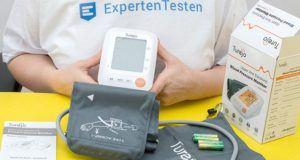 Was gilt wenn das Blutdruckmessgerät Fehler aufzeigt?