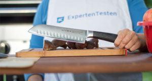 Der Griff von einem Damastmesser im Test und Vergleich