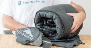 Wie hat der Schlafsack im Test bei uns abgeschnitten?
