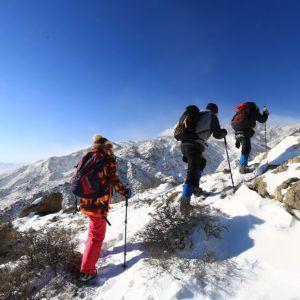 Um die Trekkingstöcke auf unterschiedlichen Untergründen nutzen zu können, brauchen Sie das nötige Zubehör.