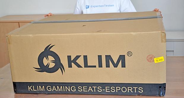 KLIM Esports Gaming Stuhl im Test - mit 2 Jahren Garantie