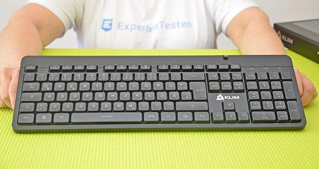 KLIM Light V2 Gaming Tastatur im Test - die Tasten haben eine Lebensdauer von 10.000.000 Anschlägen