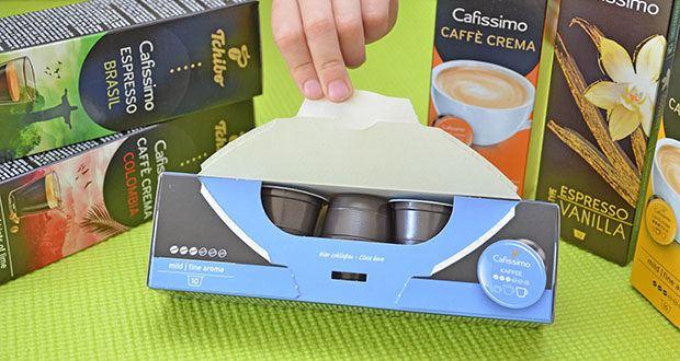 Tchibo Cafissimo Kapselkoffer Spesial Collection im Test - Röstkaffee gemahlen