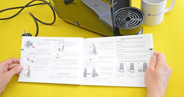 Tchibo Kapselmaschine Cafissimo Pure im Test - auf Wunsch auch die perfekte Tasse Tee