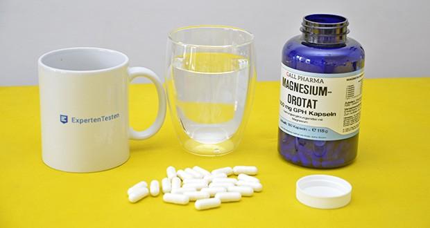 Gall Pharma Magnesiumorotat Kapseln im Test - für alle Sportarten