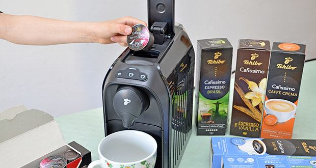 Tchibo Cafissimo Kapselkoffer Spesial Collection im Test - für Ihre Cafissimo Maschine