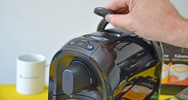 Tchibo Kapselmaschine Cafissimo Pure im Test - individuell programmierbare Getränkemenge