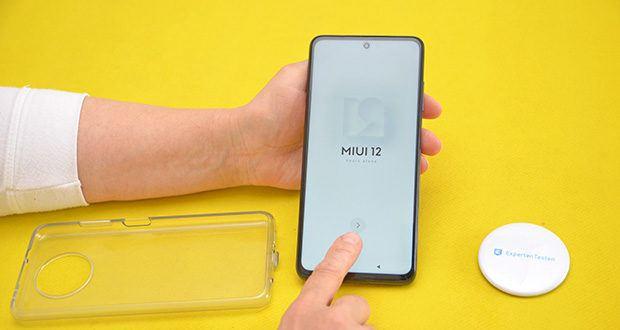 Xiaomi Smartphone Poco X3 Pro im Test - Betriebssystem: MIUI 12 basierend auf POCO