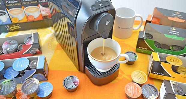 Tchibo Kapselmaschine Cafissimo Easy im Test - perfekter Espresso, Caffè Crema und Kaffee aus einer Maschine