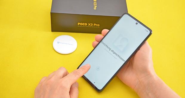 Xiaomi Smartphone Poco X3 Pro im Test - mit der verbesserten UFS 3.1-Speichertechnologie bietet das POCO X3 Pro schnelle Lese- und Schreibgeschwindigkeiten