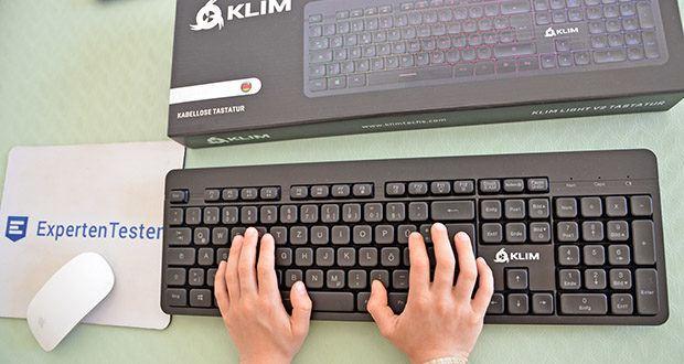 KLIM Light V2 Gaming Tastatur im Test - mit extrem kurzen Reaktionszeit