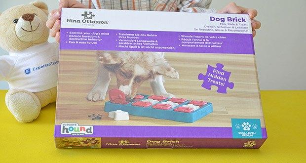 Outward Hound Interaktive Leckerli-Denkspiele für Hunde im Test - Flip, Find & Slide: 3 verschiedene Leckerli-Futterfunktionen