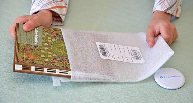 Paperblanks Blühende Poesie Adressbuch im Test - Produktabmessungen19.4 x 3.3 x 15 cm; Gewicht: 281 Gramm