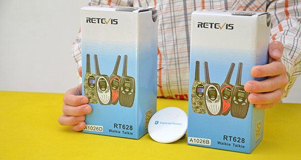 Retevis RT628 Kinder Walkie Talkie im Test - 8-Kanal- und 99-CTCSS sorgen für sichere Kommunikation