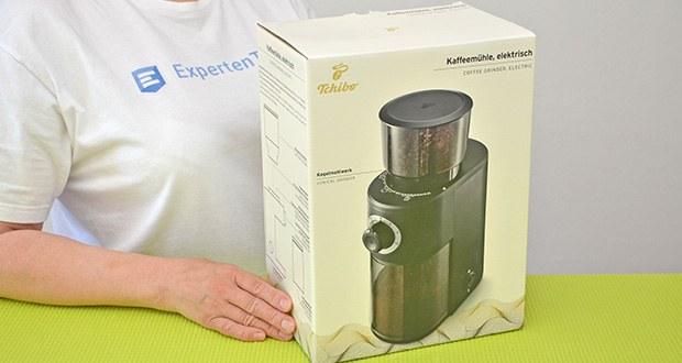 Tchibo Elektrische Kaffeemühle Einsteigermodell im Test - 24 Monate Garantie