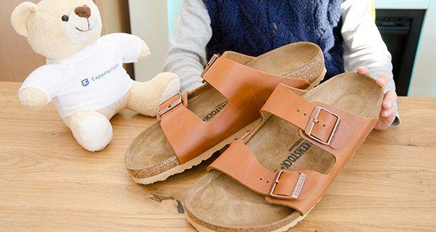 BIRKENSTOCK Herren Sandale Arizona im Test - in natürlicher Leder-Oberfläche