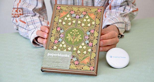 Paperblanks Blühende Poesie Adressbuch im Test - 144 seiten