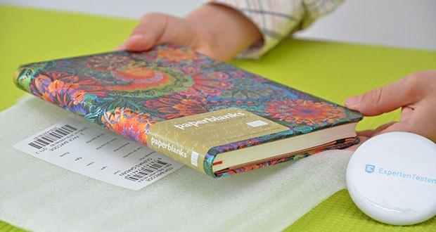 Paperblanks Olenas Garten Mondlicht Notizbuch im Test - 176 Seiten; Hardcover
