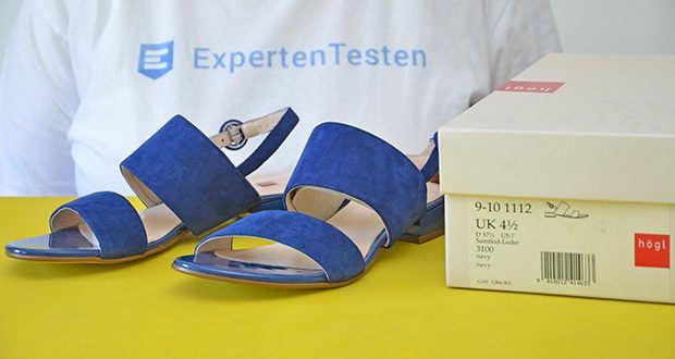 Högl Damen Sandaletten Merry im Test - äußeres Material: Leder