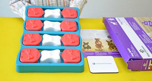 Outward Hound Interaktive Leckerli-Denkspiele für Hunde im Test - Level 2 Challenge: Bietet verbesserte Stimulation und Lernmöglichkeiten