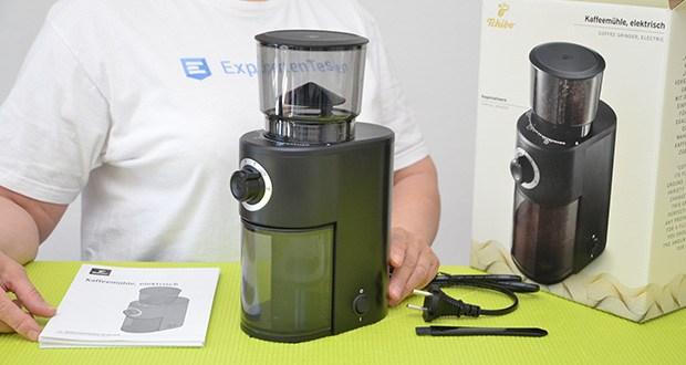 Tchibo Elektrische Kaffeemühle Einsteigermodell im Test - Leistung 160 Watt