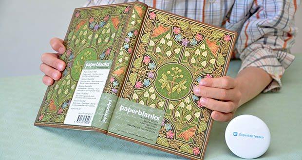 Paperblanks Blühende Poesie Adressbuch im Test - Midi; 130 × 180 mm