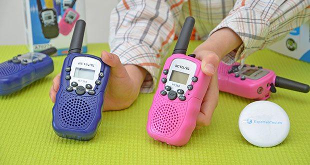 Retevis RT388 Walkie Talkie im Test - einfach zu bedienen für Kinder ab 3 Jahre alt