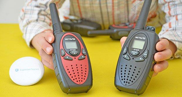 Retevis RT628 Kinder Walkie Talkie im Test - kann den Druck von 1,2 m Fallfestigkeit bewältigen
