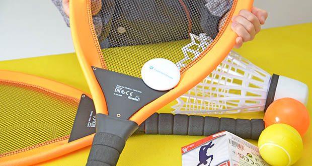Simba Giant Badminton Set im Test - Modellnummer: 107412008