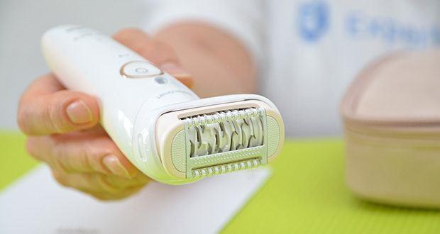 Braun Silk-épil 9 Flex 9020 Epilierer im Test - Micro-Grip-Pinzetten-Technologie (40 Pinzetten) für glatte Haut – für Wochen, nicht nur Tage