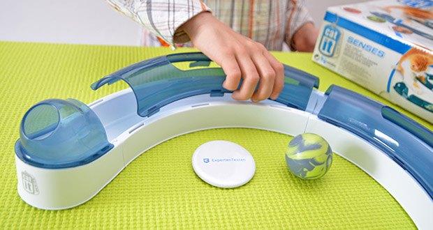 """Catit Design Senses Play Circuit im Test - kann in S-Form, als Kreis oder """"Fragezeichen"""" aufgebaut werden"""