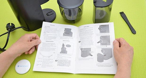 Tchibo Elektrische Kaffeemühle Einsteigermodell im Test - leichte Eignung für unterschiedliche Zubereitungsarten
