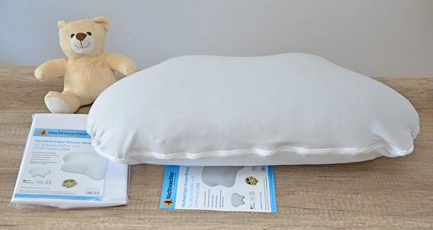 Nachtwaechter Kissen-Bezug für Kissen LINA im Test - Deutsche Hotel-Qualität
